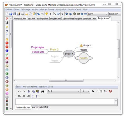 logiciel organisation bureau tutoriel freemind organiser efficacement ses idées