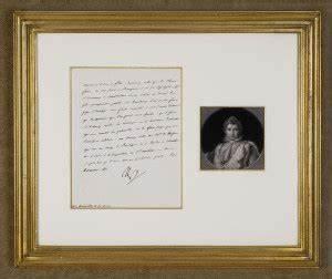 napoleon bonaparte letters for sale from k w rendell gallery With napoleon letters for sale