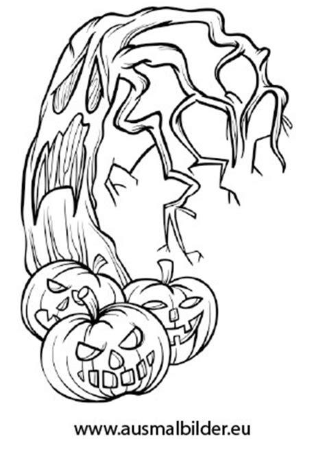 ausmalbilder furchteinfloessende gestalten halloween