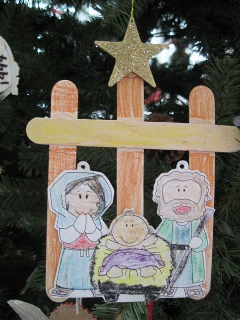 nativity crafts for preschoolers 12 days of christmas