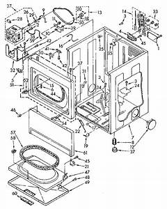 Kenmore Electric Dryer Dry Rack Parts
