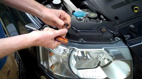 remove  land rover freelander  headlight youtube
