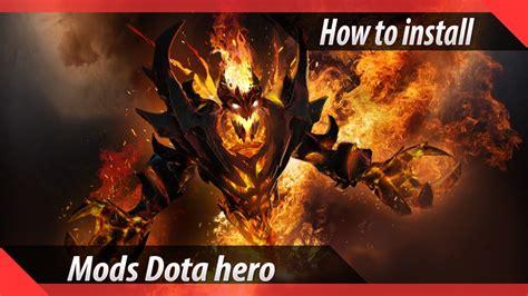 dota  reborn   install hero mods  arcana youtube