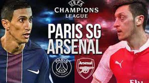 PSG vs Arsenal Live Streaming Info: Champions League 2016 ...