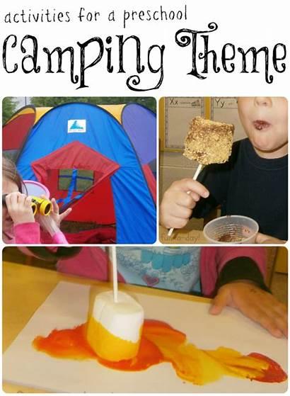 Camping Activities Fun Preschool Theme Crafts Summer