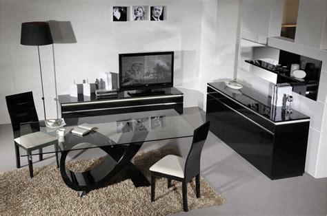conforama chambre adulte complete salle à manger complète moderne noir laqué