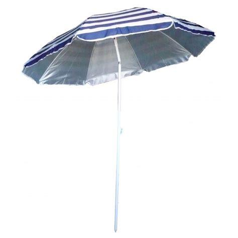 parasol de plage anti uv 233 bleu blanc marini 232 re avenue de la plage