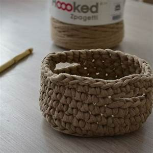Corbeille Au Crochet : mod le crochet corbeille trapilhogratuit a a patrons ~ Preciouscoupons.com Idées de Décoration