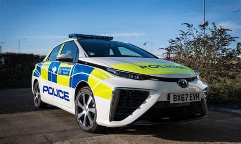 london police add fuel cell mirais  fleet