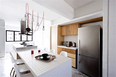 House Tours: Small HDB homes with kitchen islands   Home