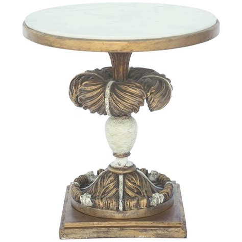 round marble top side table round accent table with marble top on painted and parcel