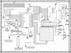 Commercial Security System Schematic Diagram