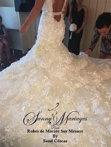 robe de mariã e sur mesure robe de mariée princesse coupe sirène mariage