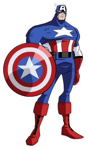 Captain America Clipart