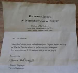 fake hogwarts acceptance letter template send on 11th With original hogwarts acceptance letter