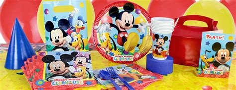 mickey mouse clubhouse party supplies party delights