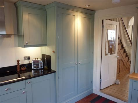 blue grey painted kitchen  peter henderson furniture