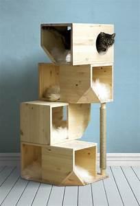 Catissa, Freestanding, 4, Storey, Cat, House