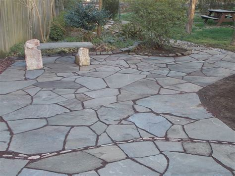 flagstone in concrete install flagstone over concrete exterior designs aprar