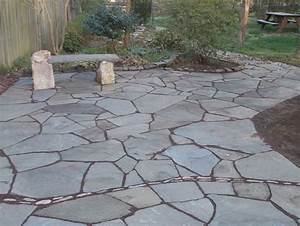 Installing, The, Flagstone, Pavers