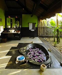 25, Wonderful, Tropical, Bathroom, Design, Ideas