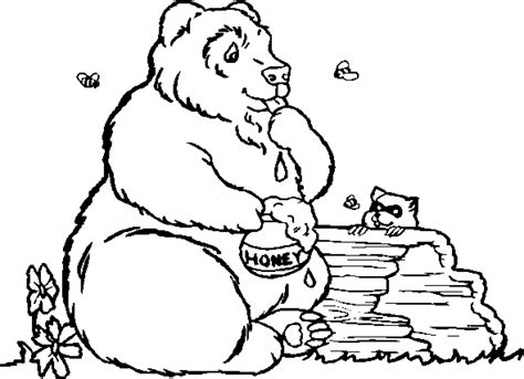 bear coloring pages coloringpagescom