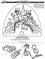 Spy Coloring Pages Crayola Dome Designer Printable Getcolorings sketch template