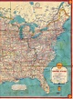 1934 Shell Road Map | This Eastern United States highway ...