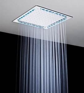 Douche Encastrable Plafond : douche au plafond barre de plafond pour fixation ecran mm ~ Premium-room.com Idées de Décoration