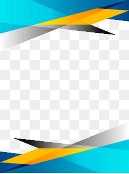frame background template blue enterprise png