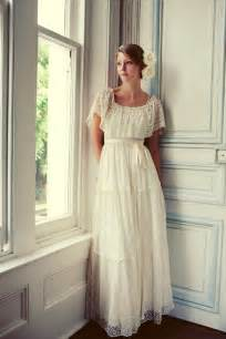 vintage inspired lace wedding dresses vintage lace wedding dress with flowers sang maestro
