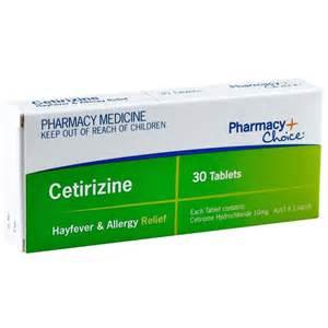 Pharmacy Choice Cetirizine Allergy Relief Tablets 30 (Same as Zyrtec)  Cetirizine Allergy