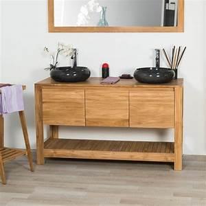 meuble sous vasque simple vasque meuble salle de bain With meuble sous vasque salle de bain 140 cm