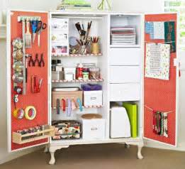 Ikea Desk Hutch Hack by 8 Clever Craft Storage Ideas The Decorating Files