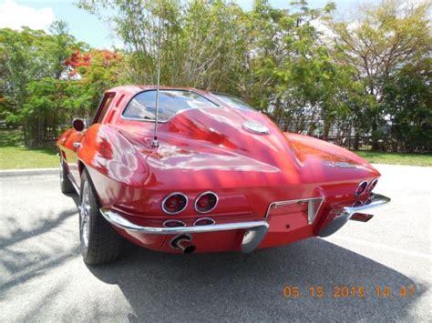 corvette split window coupe  luxury vehicle