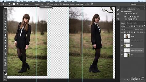 Extend Background Photoshop Extend The Background Detail