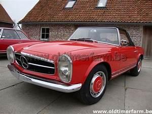 Mercedes 300 Sl A Vendre : mercedes benz 230 sl pagode red 1965 vendue ref 741 ~ Gottalentnigeria.com Avis de Voitures