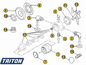 Triton Pc2100 Mixer Shower Spares And Parts