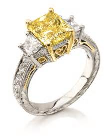colored wedding rings colored gem engagement rings collection