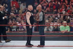 wrestlemania  jim ross predicts winner  brock lesnar
