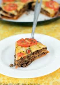 Taco Tortilla Lasagna