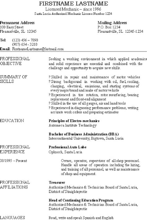 Resume For Cleaning Business Owner by Mystatementofpurpose Best Resume Cv And Cover Letter Sles That Get Results