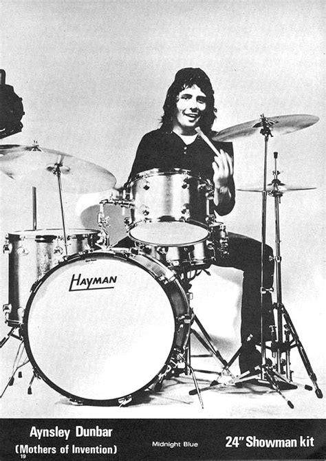aynsley dunbar drummerworld