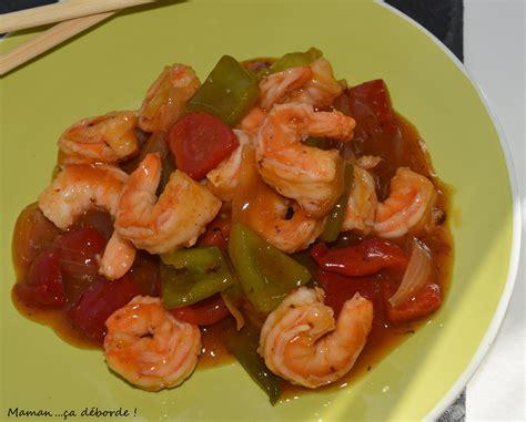 cuisine crevettes sauce piquante