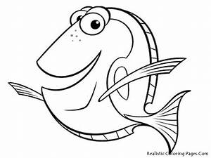 Realistic Fish Coloring Pages | Realistic Coloring Pages