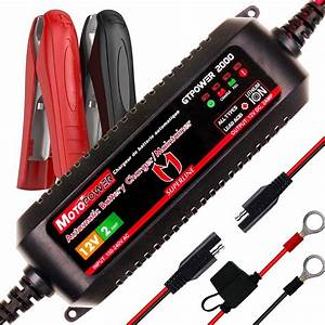 Motopower 12v 2amp Automatic Smart Battery Charger For