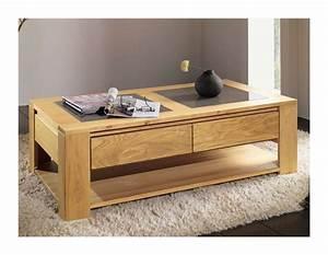 Table Chene Clair : table basse chene clair id es de d coration int rieure french decor ~ Teatrodelosmanantiales.com Idées de Décoration