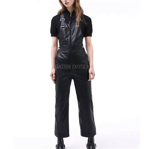 leather jumpsuits cool style leather jumpsuits for