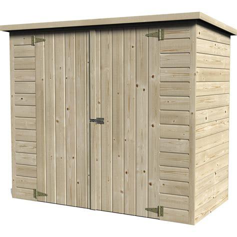 meuble cuisine largeur 50 cm abri à vélo bois naturelle l 193 x h 161 x p 98 cm