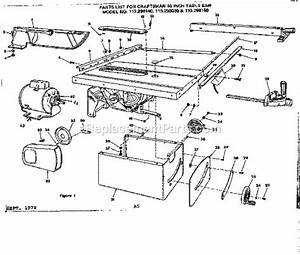 Rexon Table Saw Parts